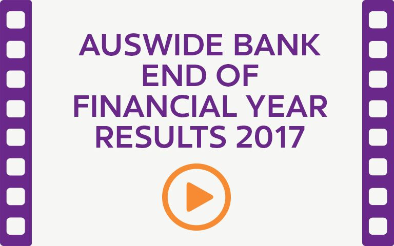 Auswide Bank 2016-17 results investor briefing. Watch Video.