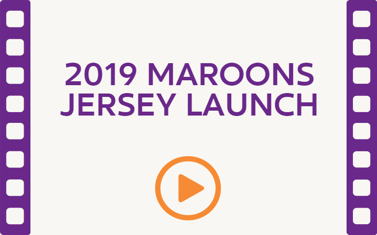 2019 Maroons Jersey Launch. Watch Video.