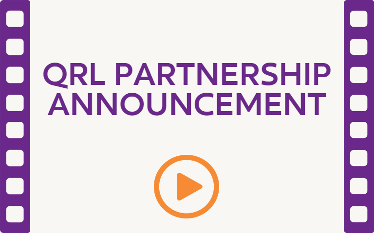 QRL Partnership Announcement. Watch Video.
